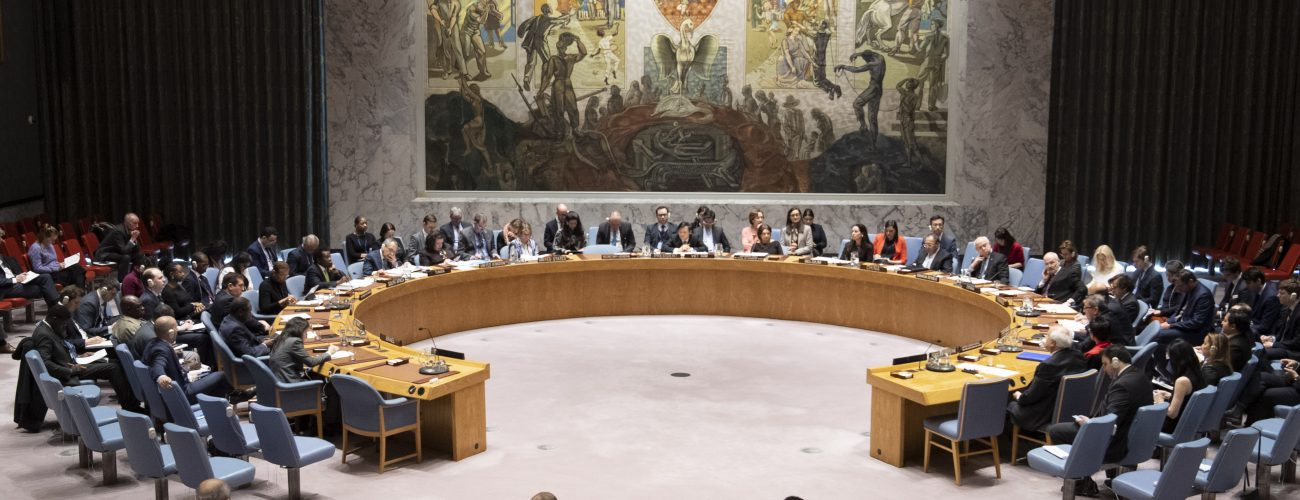 Security Council Meeting on Middle East